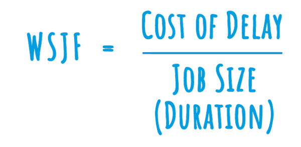 How To Calculate Weighted Shortest Job First Or Wsjf By Netmind Medium