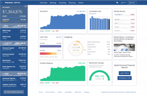 Personal Capital dashboard screenshot