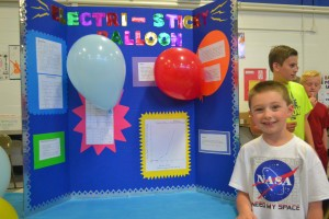 2003 Science Fair Pics |Static Electricity Science Project For Abstract