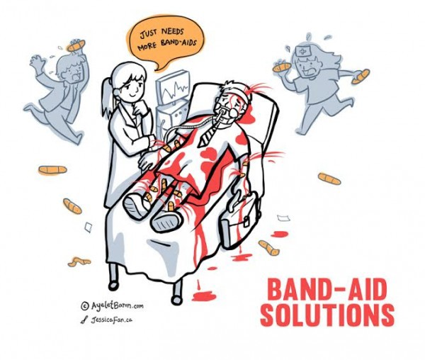 How to stop the band-aid solutions for 21st century leaders | by Ayelet  Baron | Medium