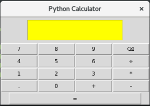 Project: Build a Python GUI Calculator - Adeyinka Adegbenro