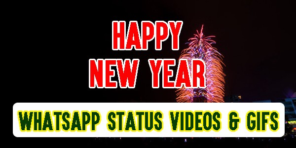 Happy New Year Whatsapp Status Videos Gifs 2020