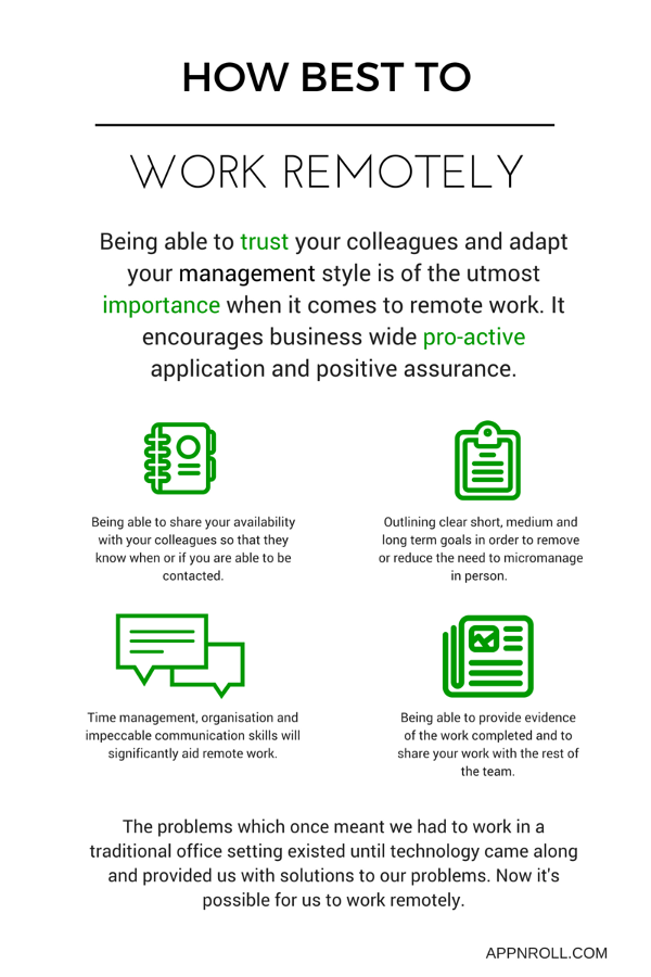 Remote Work: A Sign of Trust - App'n'roll blog