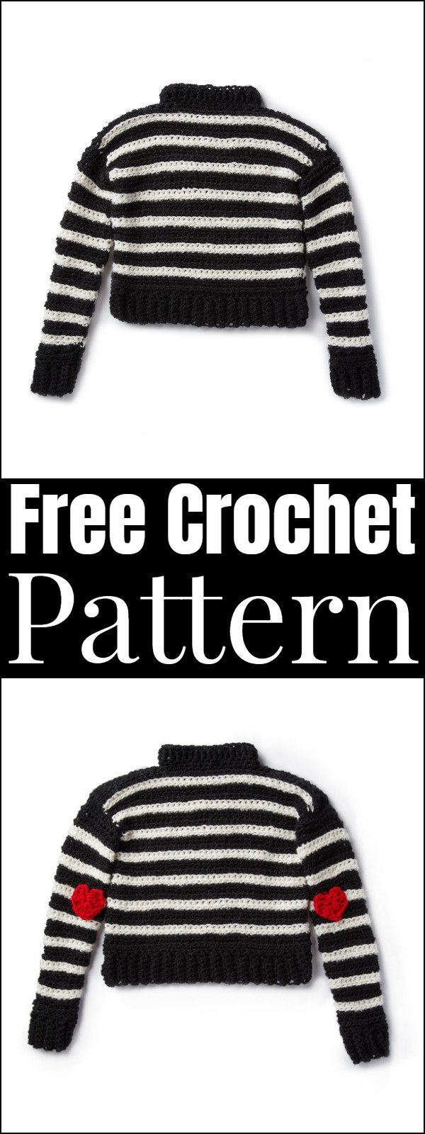 83 Free Crochet Sweater Patterns Diy Crafts By Diyncrafty Medium