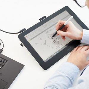 Wacom One in Use