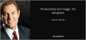 Self-Discipline and Productivity