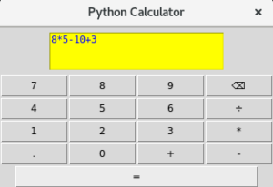 Project: Build a Python GUI Calculator - Adeyinka Adegbenro - Medium