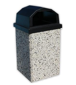 Superb The Best Trash Cans For Any Park Trashcans Unlimited Medium Interior Design Ideas Gentotthenellocom