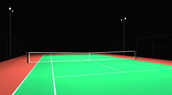 Can Tennis Court Lighting Be Replaced