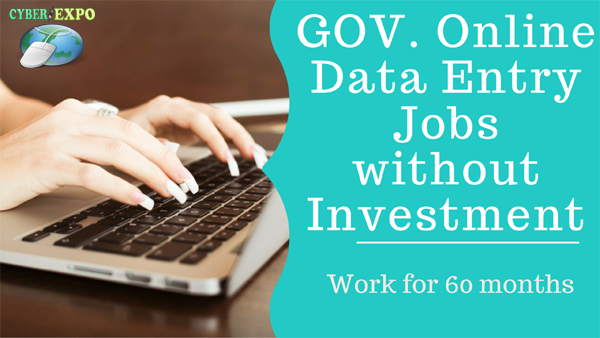 data entry online jobs without investment