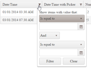Adding a TimePicker to Kendo UI Grid Date Columns - Falafel Software