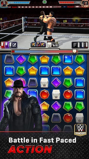 WWE Champions 2019 0 361 Mod Apk [Skill Always Active] for