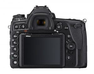 Nikon D780 Back controls and LCD Screen