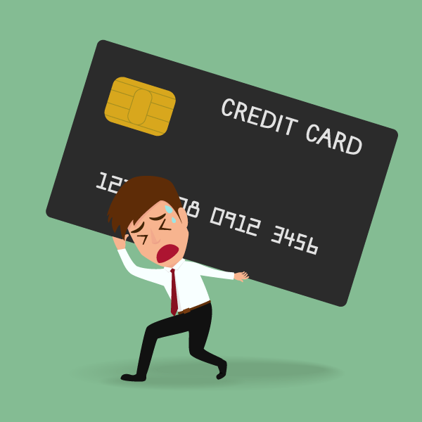 credit card debt on the rise