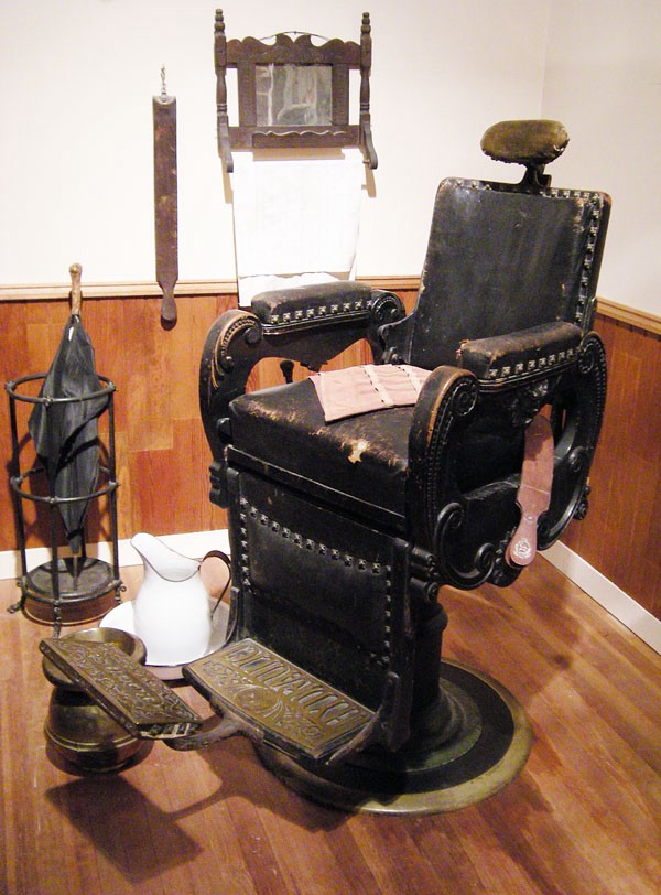 Cool The History Of Koken Barber Chairs Patent Earth Medium Machost Co Dining Chair Design Ideas Machostcouk