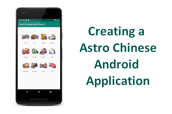Creating a Astro Chinese Application for Android - Sylvain