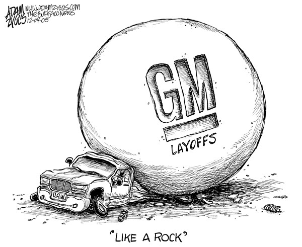 What GM's Layoffs Tell Us About Disruption in the Automotive