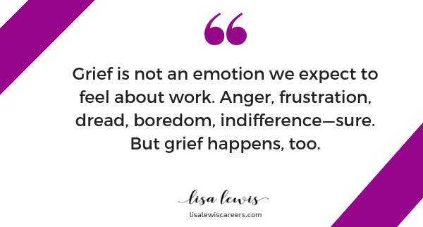 Are you in the 5 stages of grief in your career? - Lisa
