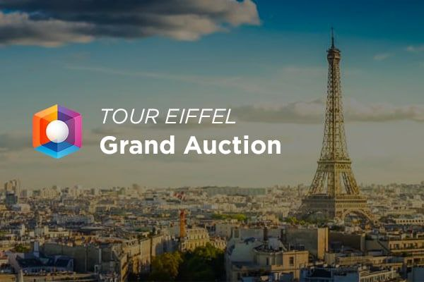 OVRLand Auction Breaks an All-time-high with the Sale of the Eiffel Tower.