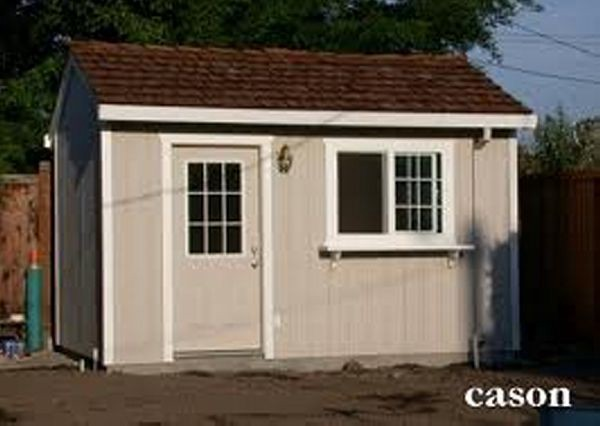 Outdoor Shed Building Drafts