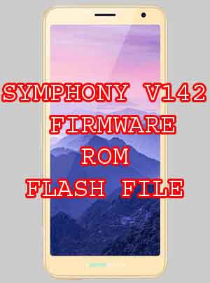 HOW TO INSTALL SYMPHONY V142 FIRMWARE ROM FLASH FILE