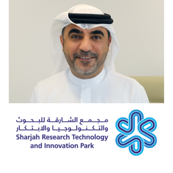 H.E. Hussain, CEO of the American University of Sharjah Enterprises and of the Sharjah Research, Technology, and Innovation P