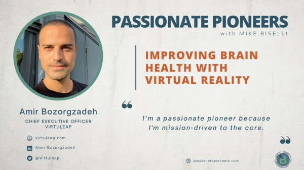 Passionate Pioneers podcast features Virtuleap