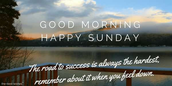 10 Inspirational Good Morning Sunday Images Quotes By Hadi