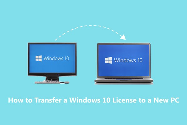 How to Transfer a Windows 10 License to a New PC - Hariom