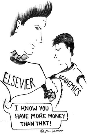 Can't Disrupt This: Elsevier and the 25 2 Billion Dollar A Year