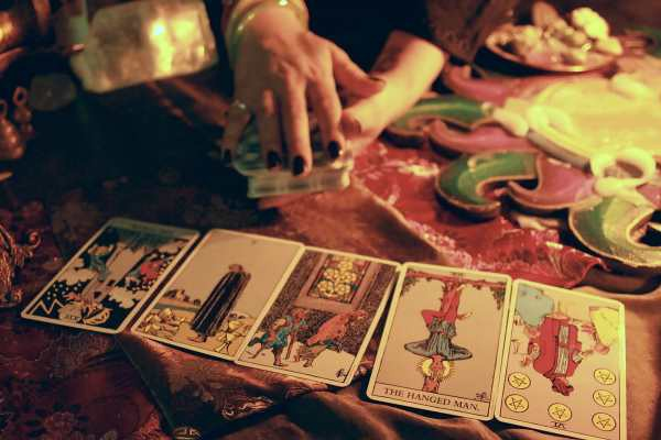 I used to read Tarot Cards for money  - Charlotte Clegg - Medium