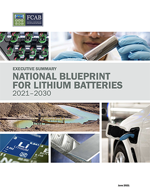National Blueprint for Lithium Batteries Executive Summary