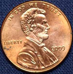 2009 United States Lincoln penny