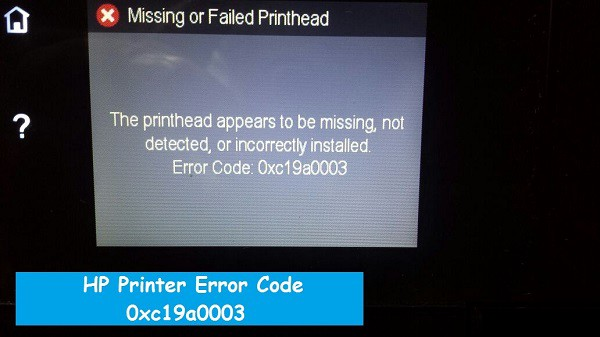 HP Printer Error Code 0xc19a0003-How to Fix? - Amelia Sampson - Medium
