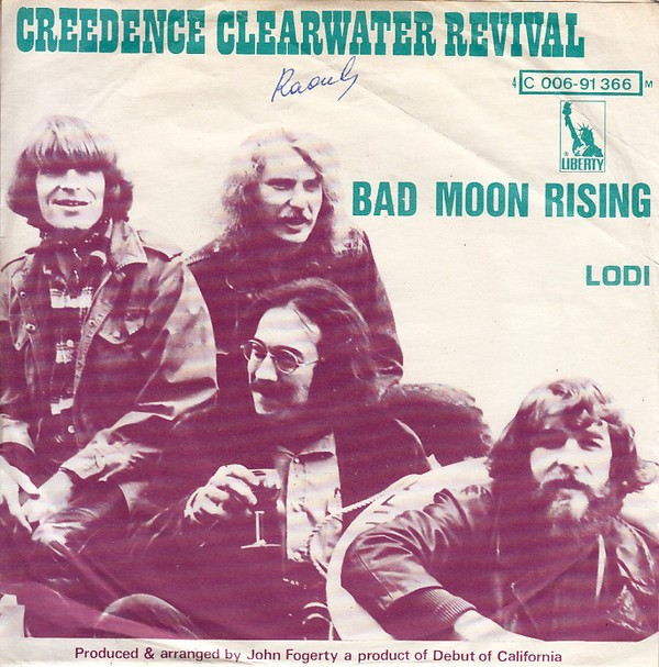 Lauren Recommends Bad Moon Rising By Creedence
