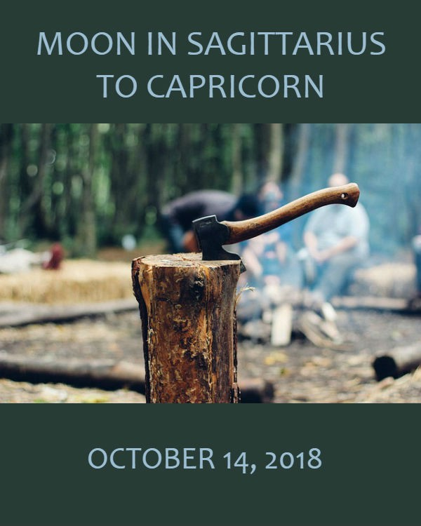 Daily Horoscope: Moon in Sagittarius to Capricorn, October