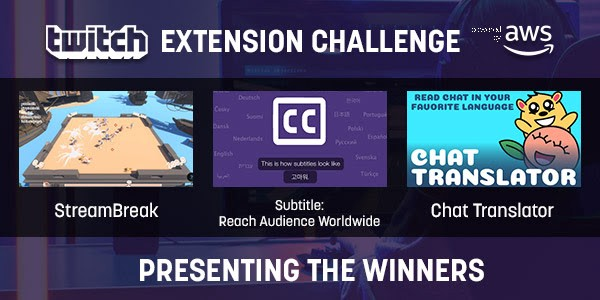 Twitch Extension Challenge: And the winners are… - Twitch Blog
