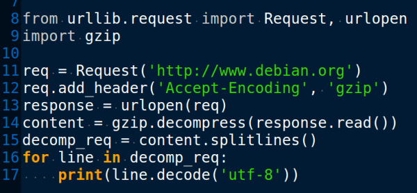 urllib request, Request, urlopen, gzip - nick3499 - Medium