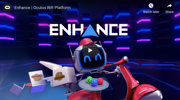 Enhance VR featured by Oculus