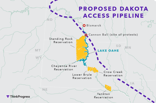 Image result for image of dakota access pipeline