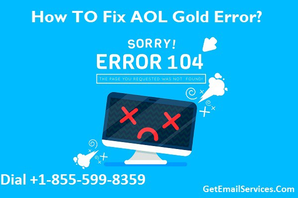 How to Fix AOL Desktop Gold Error 104? - Email Helpline - Medium