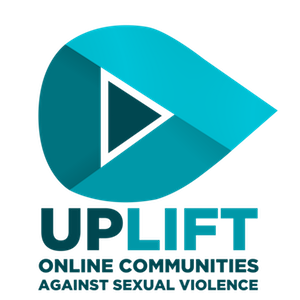 Uplift logo: UPLIFT Online Communities Against Sexual Violence