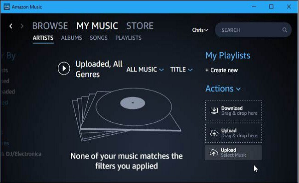 How to Import Music from your Device to Amazon Music Library | by Daniel  Wilson | Medium