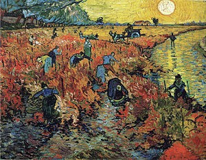 Only when I fall do I get up again — Vincent Van Gogh