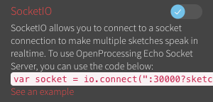 Creating collaborative sketches with web sockets on OpenProcessing org