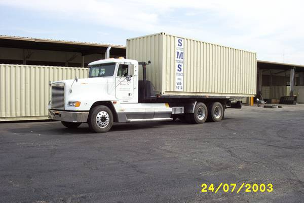 Delivery Truck for Southwest Mobile Storage Portable Container