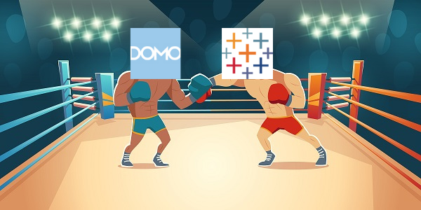 DOMO vs. Tableau — Round by Round
