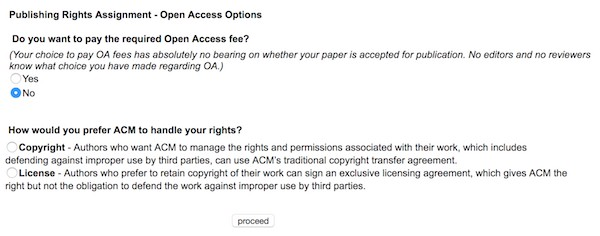 ACM Copyright Licenses: Which should you choose, and how do