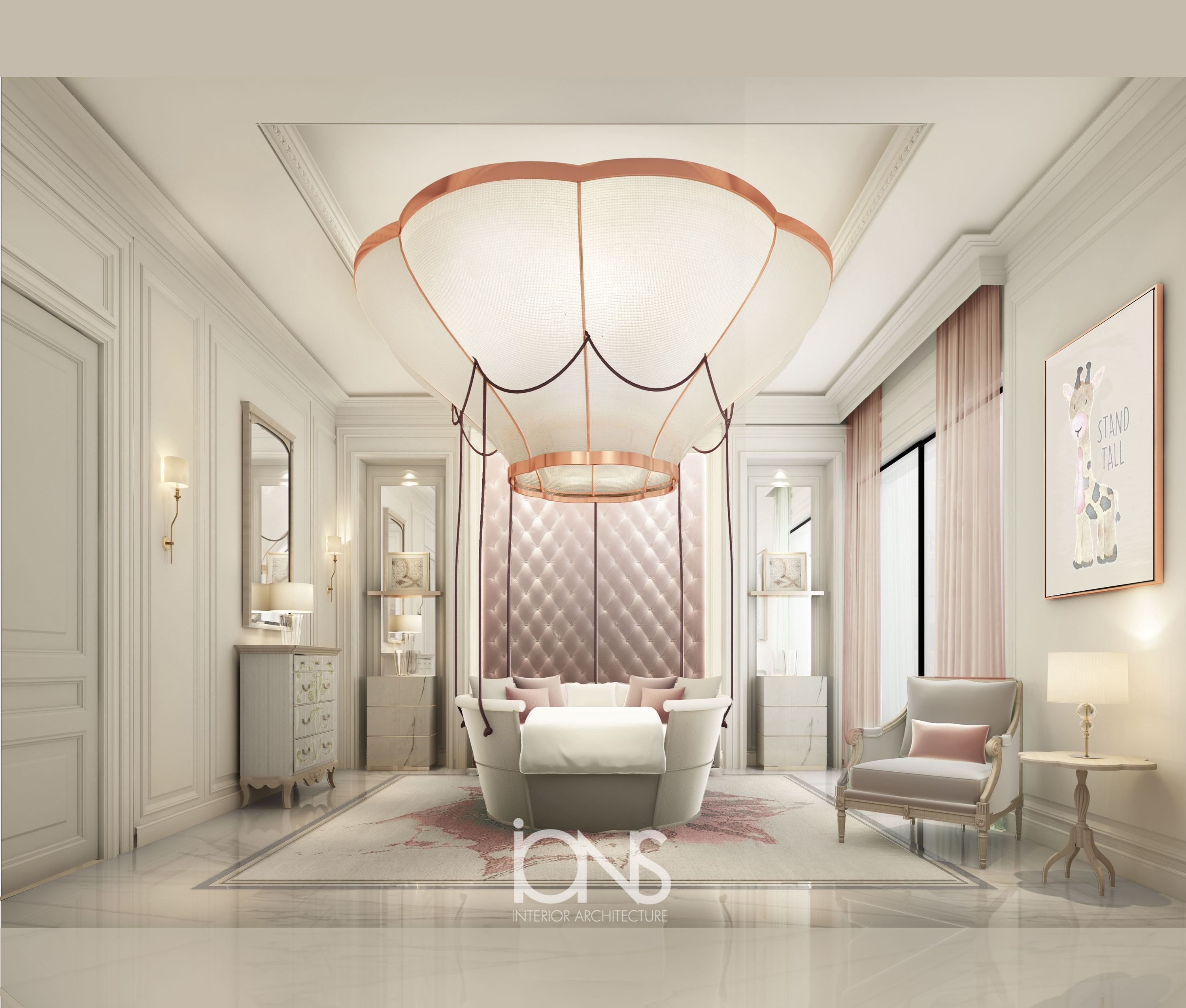 Ions Interior Design Dubai villa interior design — bedroom design ideas for young girls