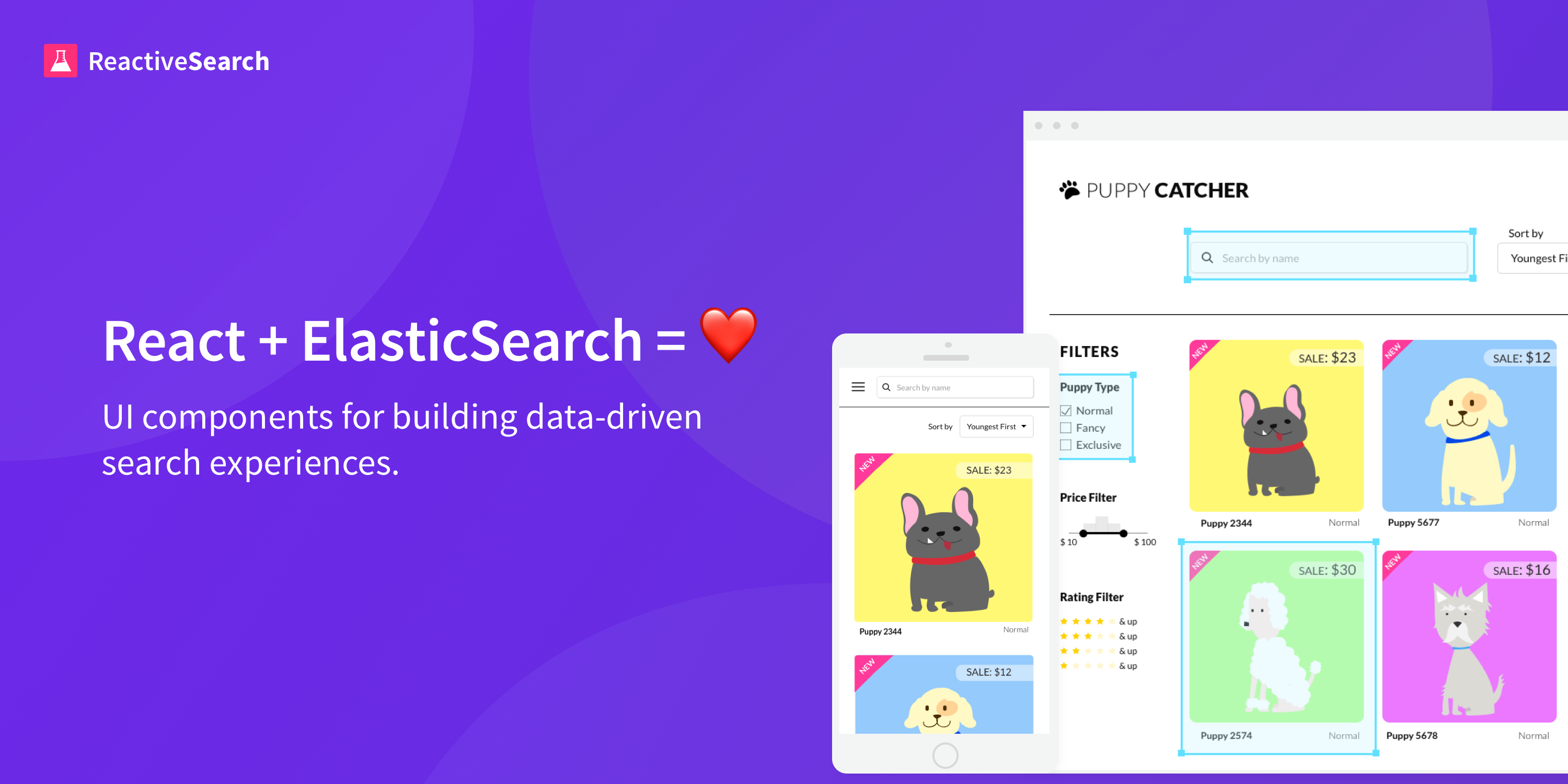 Migrating from InstantSearch to ReactiveSearch - All things